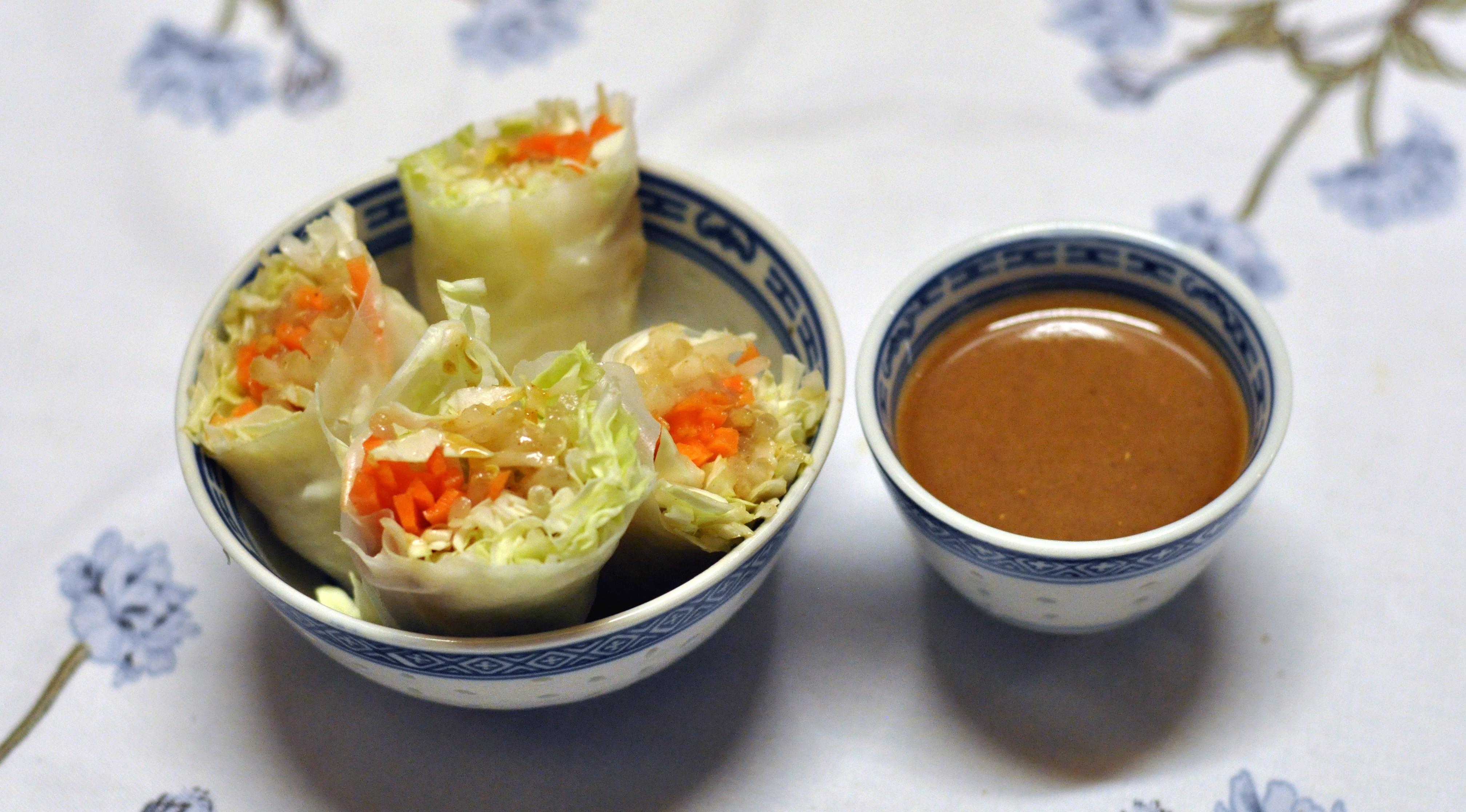 Veggie Rice Paper Wraps