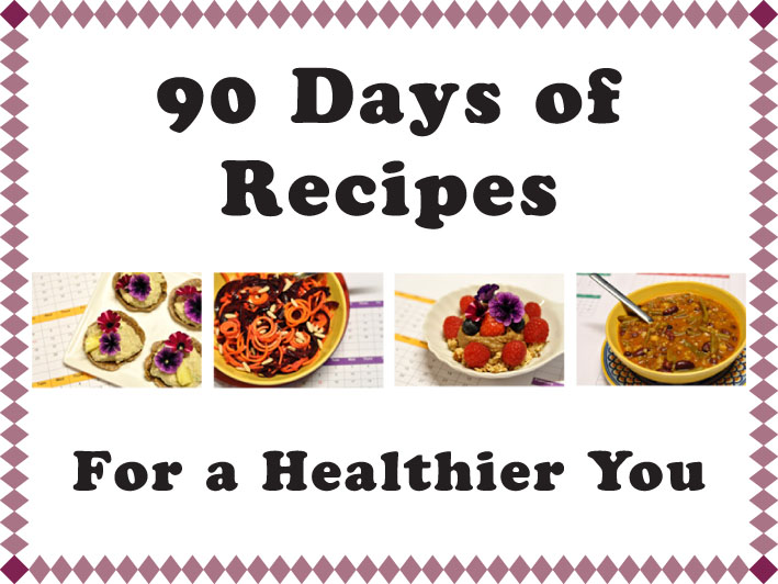 90 days of recipes