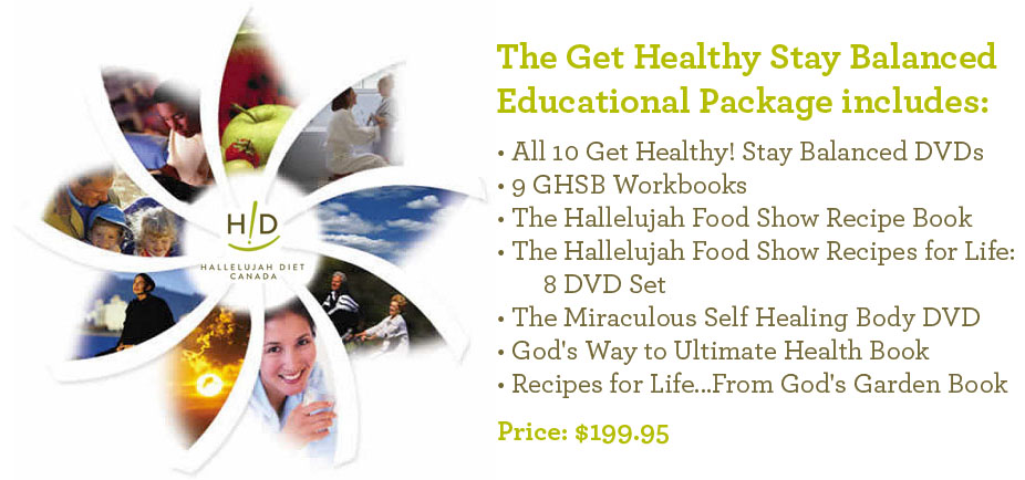 Get Healthy Balanced Complete Pacakge