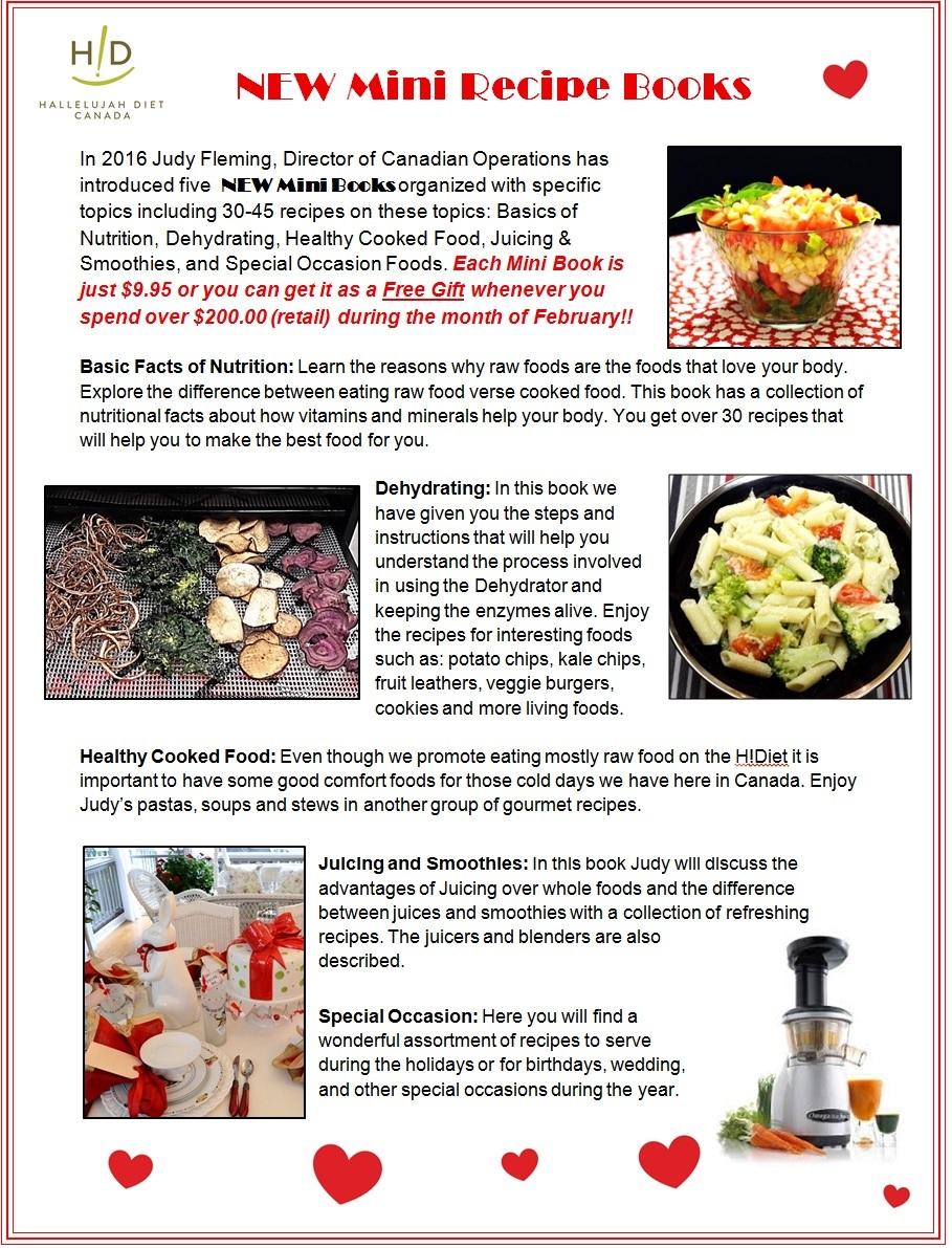 New to 2016 five mini recipe books five mini recipe books forumfinder Gallery